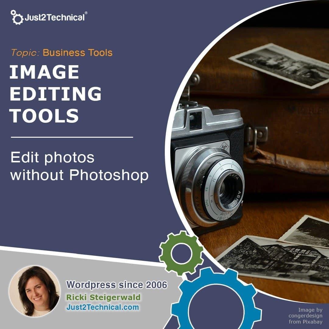 Edit photos without Photoshop