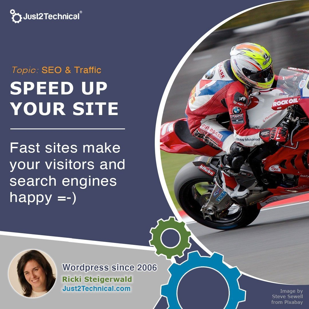 Fast sites make your visitors and search engines happy