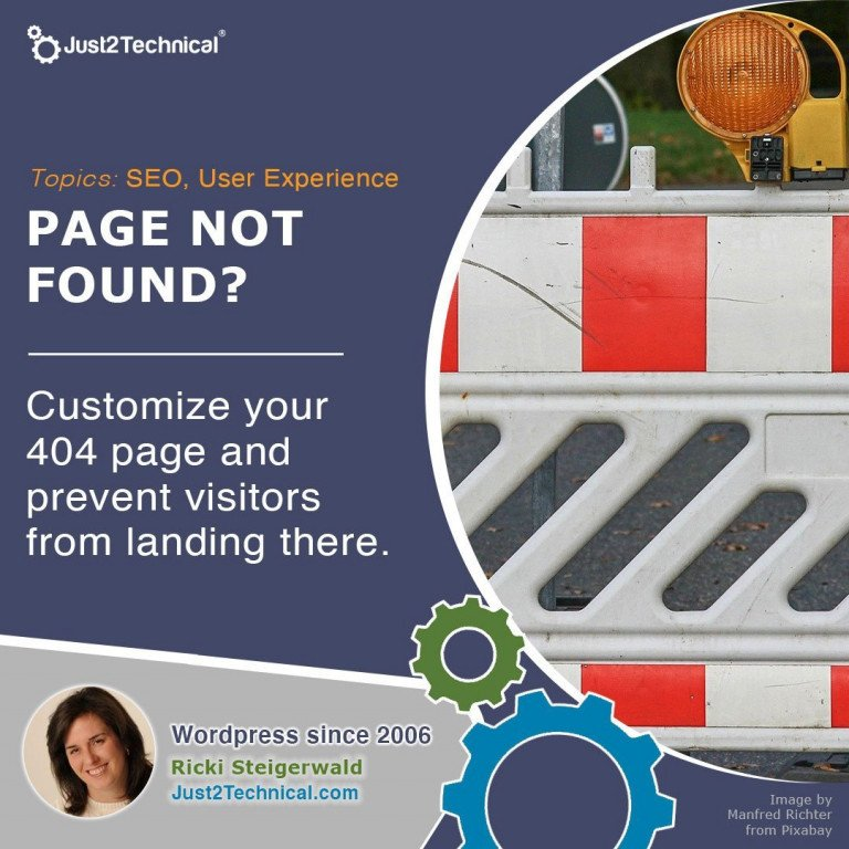 Customize your 404 page and prevent users from landing there.